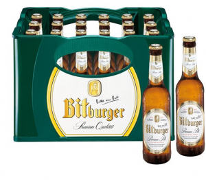 Bitburger Pils lux 24x0,33l