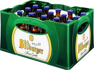Bitburger Pils Stubbi alkoholfrei 0,0% 20x0,33l
