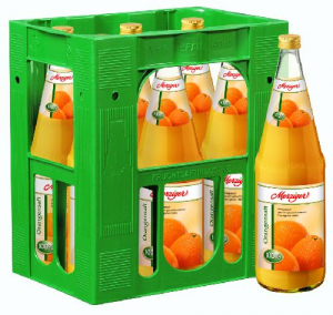 Merziger Orangensaft 6x1,00l Glas