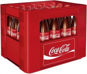 Coca-Cola 20x0,50l Glas
