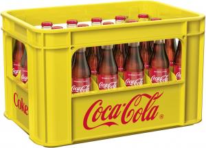 Coca-Cola 24x0,33l Glas