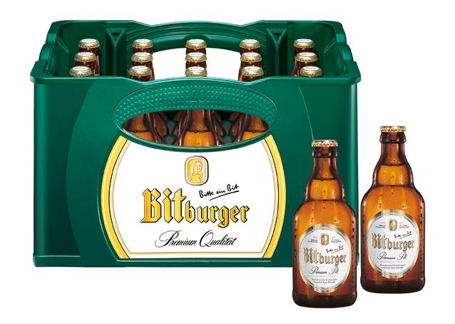 Bitburger Pils Stubbi 20x033l