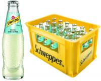 Schweppes Bitter lemon 24x0,20l Glas