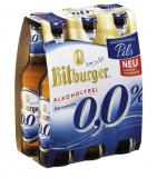 Bitburger Pils alkoholfrei 0,0% 6x0,33l
