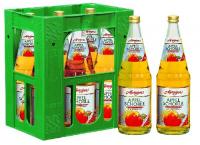 Merziger Apfelschorle 6x1,00l Glas